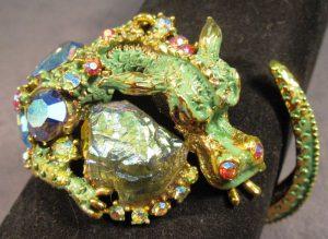 Set of Hargo Dragon Bracelet & Earrings