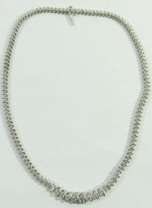 white gold jewelry necklace