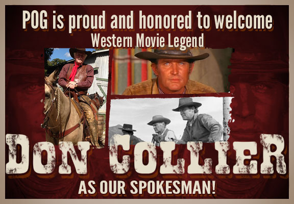 Pot of Gold Estate Auctions is proud to have Western Movie Legend Don Collier as our spokes person