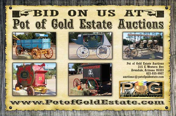 Pot of Gold Estate Auctions Bid On Our Wagons!